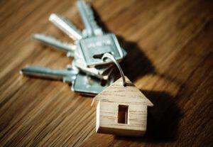 Schlüsselbund für ein Eigenheim