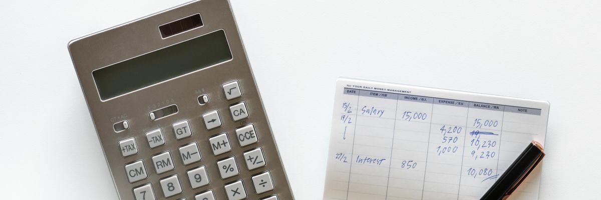 taschnrechner, Stift und Zettel